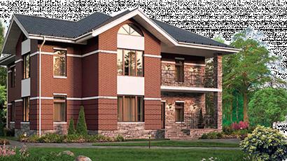 Облицовочный кирпич для отделки фасада дома