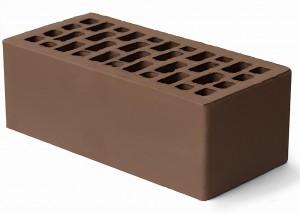 Облицовочный кирпич светло-коричневый гладкий 1,4 НФ