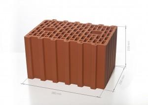 Поризованный блок (керамический блок) BRAER Ceramic Thermo 10,7 NF