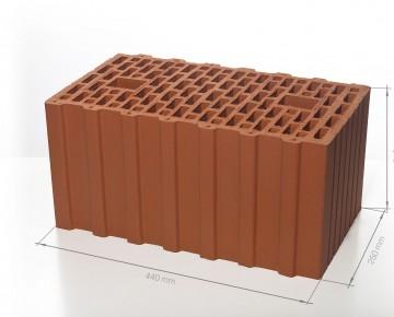 Поризованный блок (керамический блок) BRAER Ceramic Thermo 12,4 NF