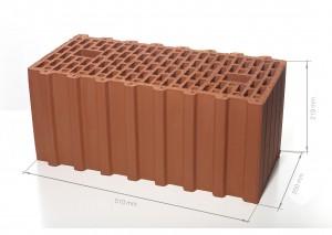 Поризованный блок (керамический блок) BRAER Ceramic Thermo 14,3 NF