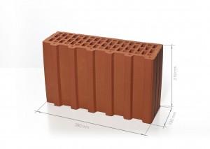 Поризованный блок (керамический блок) BRAER Ceramic Thermo 5,2 NF