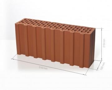 Поризованный блок (керамический блок) BRAER Ceramic Thermo 7,1 NF