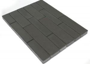 Тротуарная плитка BRAER Домино, Серый