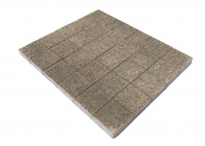 Тротуарная плитка BRAER Лувр, Гранит серый