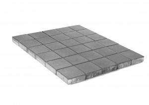 Тротуарная плитка BRAER Лувр, Серый