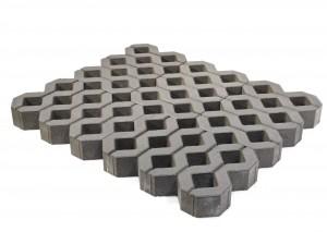 Газонная решетка Меба серая