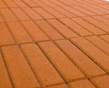 Тротуарная плитка BRAER Прямоугольник, Оранжевый