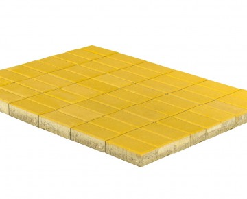 Тротуарная плитка BRAER Прямоугольник, Желтый