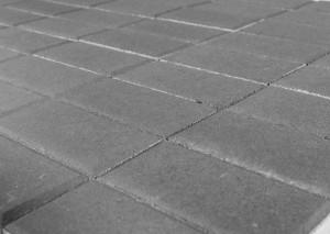 Тротуарная плитка BRAER Прямоугольник, Серый