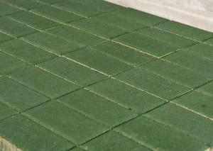 Тротуарная плитка BRAER Прямоугольник, Зеленый