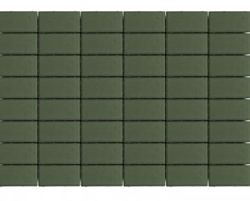 Тротуарная плитка BRAER Прямоугольник, Травяной