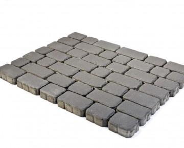 Тротуарная плитка BRAER Ривьера, Серый