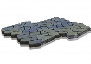 Тротуарная плитка BRAER Сан Тропе, Color Mix Тип 2