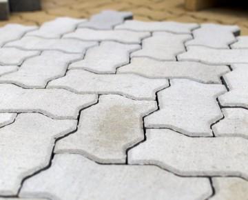 Тротуарная плитка BRAER Волна, Циркон